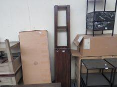 Costco - 3-Tier Wooden Shelf Unit - Unassembled, No Visible Damage.