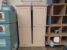 | 2X | COX AND COX PINK PETITE CABINET | DAMAGE TO THE BACK BUT LOOKS LIKE IT COULD BE REPAIRED |