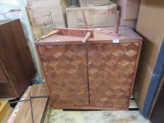| 1X | SWOON WOODEN SIDEBOARD | WOOD COMPING APART A BIT AND INCLUDES FEET BUT NO FIXINGS | PALLET