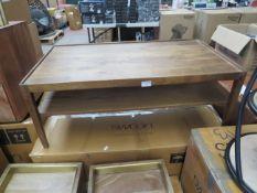 1 x SWOON Eide Coffee Table in Light Oak RRP £329 SKU SWO-AP-eidecofflgtoak-BER TOTAL RRP £329