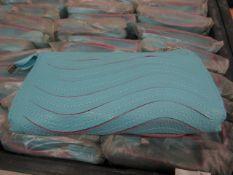 5x Blue Clutch Purse with Handbag Strap - New & Sealed