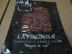 10 x 100g Packets La Finojosa SALCHICHON (simular to chroizo) BB 13.3.22 RRP £5 per packet IBERICO