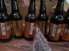 2x Boxes Containing 8x Eden River Brew Co - Aurum - Refreshingly Fruity Golden Ale - ALC 4.4%