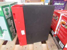 2x Ergogrip - Binder File Black & Red - Unused, No Packaging.
