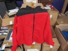 Unbranded - Adult Fleece Jacket - Size Large - New & Packaged - RRP £14.99.