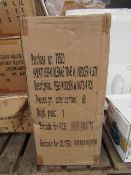 Box Containing Approx 60x Packs - 4 Units Per Pack - Tiger - Wooden Hobby Pegs - Unused & Boxed.