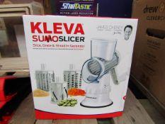 | 2x | KLEVA SUMO SLICER | UNCHECKED & BOXED | NO ONLINE RESALE | SKU - | RRP £ - |