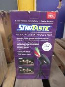 | 1x | STARTASTIC ACTION LASER PROJECTOR | UNCHECKED & BOXED | NO ONLINE RESALE | SKU - | RRP £- |
