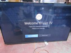 """Hisense 65A7GQTUK 65"""" 4K UHD TV, Tested working for picture via HDMI Feed, comes with original"""