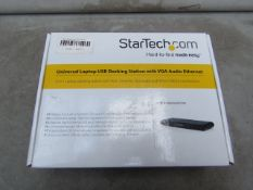 Startech Universal Laptop USB Docking Station - Unchecked & Boxed - RRP £184
