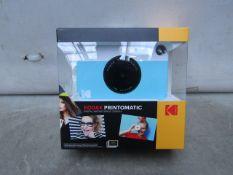 Kodak Printomatic Instant Print Camera - Unchecked & Boxed - RRP £65