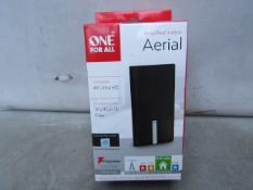 One For All Amplified Indoor Aerial - Unchecked & Boxed