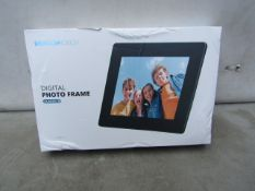 """Dragon Touch Digital Photo Frame - Classic 8 - 8"""" Display with 16GB Memory - Unchecked & Boxed - RRP"""