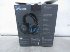 Logitech G432 Wired Gaming Headset - Tested Working & Boxed - RRP £43