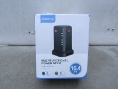 Sameriver 16.4ft Multifunctional Power Strip - Untested & Boxed - RRP circa £35
