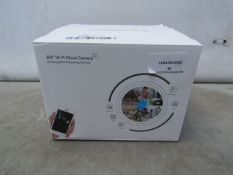 360 Eyes Wifi Cloud Camera - Unchecked & Boxed - RRP Circa £50