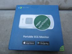 Emay Portable ECG Monitor - Untested & Boxed - RRP £100