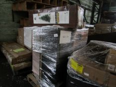 Mixed pallet of Cox & Cox customer returns to include 10 items of stock with a total RRP of