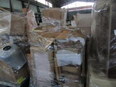 | 1X | PALLET OF FAULTY / MISSING PARTS / DAMAGED CUSTOMER RETURNS SWOON/MADE-COX & COX STOCK