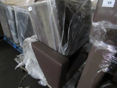| 1x | PALLET OF APPROX 1 LOFT LEATHER STYLE ARM CHAIR AND SOFA | ALL UNCHECKED|