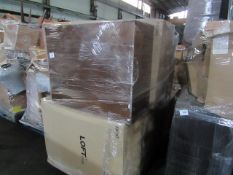 | 1x | PALLET OF APPROX 6 LOFT CABINETS | ALL UNCHECKED|