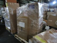 Mixed pallet of Cox & Cox customer returns to include 3 items of stock with a total RRP of