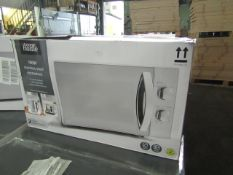 4x Stainless Steel 700W Microwave Ovens - Unchecked & Boxed - RRP £50 - Total lot RRP £200 - Load