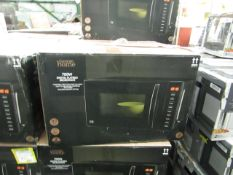 5x 700W Digital Flatbed Microwaves - Black - Unchecked & Boxed - RRP £60 - Total lot RRP £300 - Load