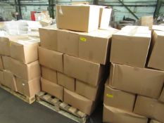 1x Pallet Containing Approx 24 Microwave Ovens in Non-Original Boxes - Please be aware we do not
