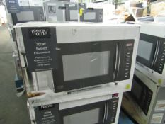 5x 700w Flatbed Digital Microwave - Black - Unchecked & Boxed - RRP £60 - Total lot RRP £300 -