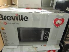 5x Breville 17L 800W Solo Microwave Oven - Black - Unchecked & Boxed - RRP Per Item £59.99 - Total