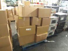 1x Pallet Containing Approx 23 Microwave Ovens in Non-Original Boxes - Please be aware we do not