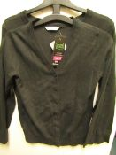 3x girls 2piece school cardigan grey - size 10/11 - new but might have security tags on.