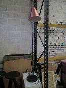 Heals Hayden Floor Lamp, Black & Copper - RRP £289.00.