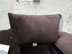 Costco Set of 2 Velvet Cushions, Soft & Blush - Size 35cm x 55cm - No Visible Damage - RRP £12.99.