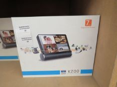 """K200 Smart HD network video server with 7"""" display, unchecked and boxed."""