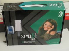 Comelit single family audio kit, unchecked and boxed.