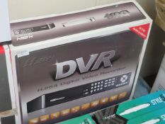 H.264 DVR kit, unchecked and boxed.