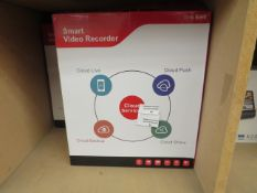 Smart video recorder, unchecked and boxed.