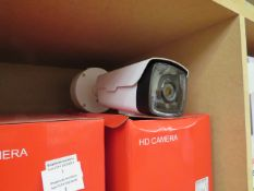 Digital HD bullet camera, unchecked and boxed.