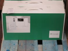 Comelit single family kit with quadra and mini, simplebus system, unchecked and boxed.