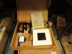 Geberit 116.027.KJ.1 Sigma 30 electronic Urinal flush plate, new and boxed, RRP £510