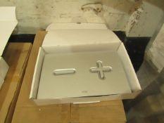 Roca PL6 Dual Flush Plate, new