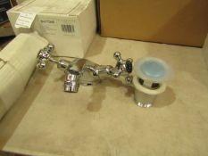 Bayswater Bathrooms mono bidet mixer, new and boxed.