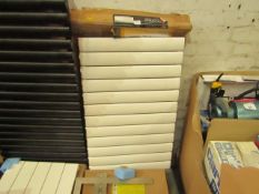 Carisa Elliptic Radiator 955x600mm, unchecked. Please note, this radiator is ex-display and may