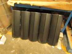 Carisa Radiators bathroom radiator 600 x 1045, boxed. Please note, this radiator is ex-display and