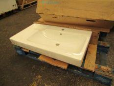 Gerberit iCon 1214195000 90cm basin, looks unused with original box