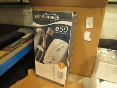 Gainsboro e50 8.5KW electric shower, new and boxed