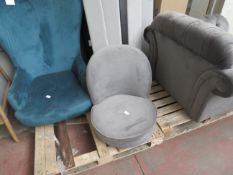 | 1X | MADE.COM GREY OFFICE CHAIR | no major damage (PLEASE NOTE, THIS DOES NOT PROVIDE ANY WARRANTY