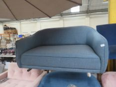 | 1X | MADE.COM BLUE FABRIC LOVESEAT | no major damage (PLEASE NOTE, THIS DOES NOT PROVIDE ANY